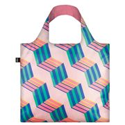 LOQI - Geometric Collection Cubes Reusable Bag