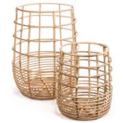 Bullseye - Round Basket Set 2pce
