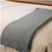 Bemboka - Angora/Superfine Merino Lightbox Throw Pale Grey