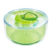 Zyliss - Easy Spin Large Salad Spinner Green