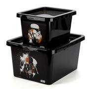Star Wars - Darth Vader/Storm Trooper Storage Box Set 2pce