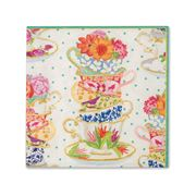 Caspari - Tea Cups Cocktail Napkins 20pce