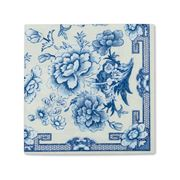 Caspari - Blue And White Cocktail Napkins 20pce