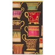 Caspari - Salon De The Black Guest Towel 15pce