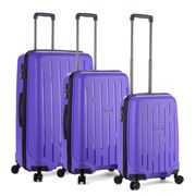 Antler - Lightning Purple Luggage Set 3pce