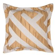 Florence Broadhurst - Chinese Key Gold Square Cushion