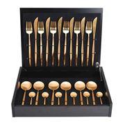 Cutipol - Moon Matte Gold Cutlery Set 24pce