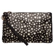 Mighty Purse - Black/Gold Star Wristlet w/ Charger & Adaptor