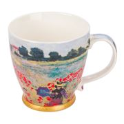 The Leonardo Collection - Poppy Fields Breakfast Mug