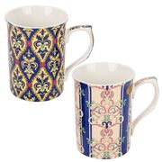 The Leonardo Collection - Persian Tapestry Mugs Set 2pce