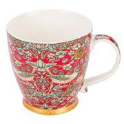 The Leonardo Collection - Strawberry Thief Breakfast Mug