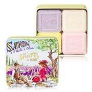 La Savonnerie De Nyons - Picnic Tin Soap Set 4pce