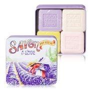 La Savonnerie De Nyons - Picking Lavender Tin Soap Set 4pce
