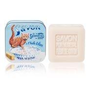 La Savonnerie De Nyons - Ginger Cat Cotton Flower Soap 100g