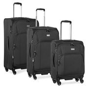 Antler - Airstream II Charcoal Spinner Case Set 3pce