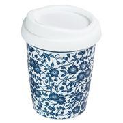 Avanti - Go Mug Blue Flowers