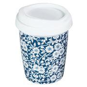 Avanti - Go Mug White Flowers