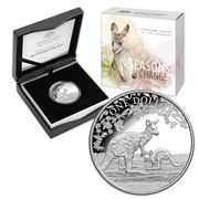 RA Mint - Kangaroo Series Season Change 2017 $1 Silver Coin
