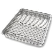 USA Pan - Quarter Sheet Pan With Cooling Rack
