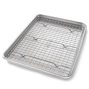 USA Pan - Jelly Roll Pan With Cooling Rack