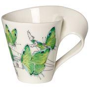 Villeroy & Boch - NewWave Caffe Dp Grn Hairstreak Mug 300ml