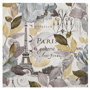 IHR - Jardin Paris Grey Lunch Napkin 20pk