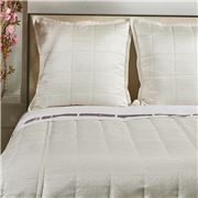 Ann Gish - Texture White Queen Coverlet Set