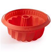 Lekue - Deep Savarin Mould Red