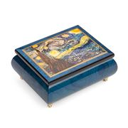 Ercolano - Starry Night Musical Jewellery Box
