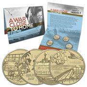 RA Mint - A War Close To Home $1 Uncirculated Four Coin Set