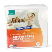 Protect-A-Bed - Anti-Allergy Smooth Mattress Protector Queen