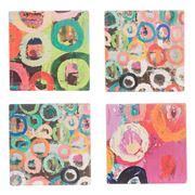 Thirstystone - Gregs Circles Coaster Set 4pce