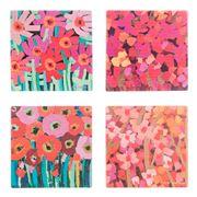 Thirstystone - Summer Blooms Coaster Set 4pce