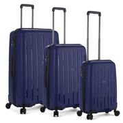 Antler - Lightning Navy Luggage Set 3pce