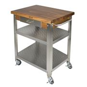 Boos - Cucina Elegante Kitchen Cart Walnut