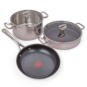 Tefal - Reserve Collection Tri-Ply Coated Set 3pce