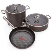 Tefal - Reserve Collection Hard Anodised Set 3pce