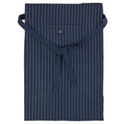 Lexington - Fine Herringbone Cooking Apron Blue/White