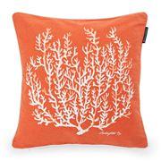 Lexington - Coral Orange Cushion 50x50cm