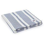 Lexington - Striped Tablecloth White/Blue 150x250cm