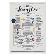 Lexington - BBQ Kitchen Tea Towel White 50x70cm