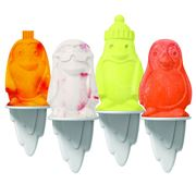 Tovolo - Penguin Pop Moulds Set Of 4