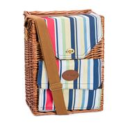 Avanti - Willow Stripe Twin Wine Picnic Basket