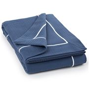 Lexington - Cotton Bedspread Blue 160x240cm