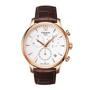 Tissot - Tradition Rose-Gold Chronograph w/Brown Strap