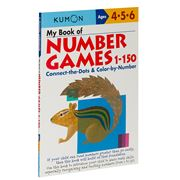 Book - Kumon My Book Of Number Games 1-150