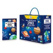 Sassi - Travel Learn & Explore Space Oval Puzzle
