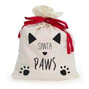 AT - Pet Santa Sack Santa Paws