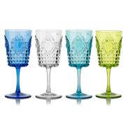 Baci Milano - Wine Glass Set 4pce 375ml Assorted