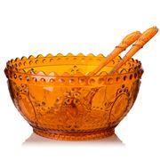 Baci Milano - Salad Bowl Set 3pce Orange